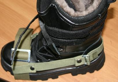 5350931af1a5 Крепления для лыж с задником брезент 45 мм пряжка